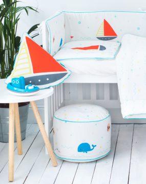 Bettwäsche-Set für Kinder mit Füllung Seeabenteuer