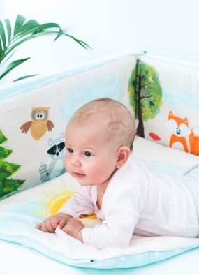 Bettwäsche-Set für Kinder mit Füllung Freunde im Wald
