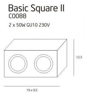 BASIC SQUARE II SCHWARZ