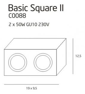 BASIC SQUARE II WEISS