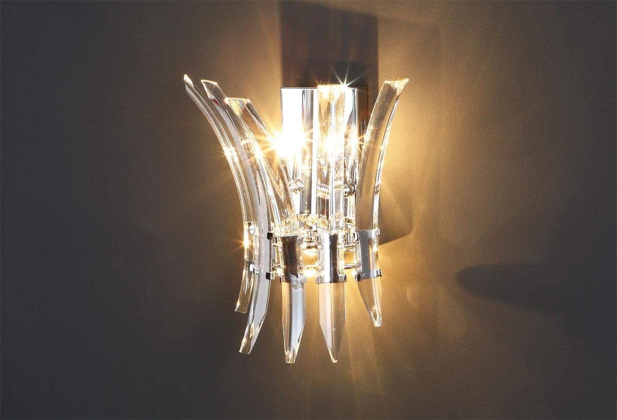 Kristal Lampen Amsterdam : Kristal wandleuchte dslampen at lampen und leuchten online