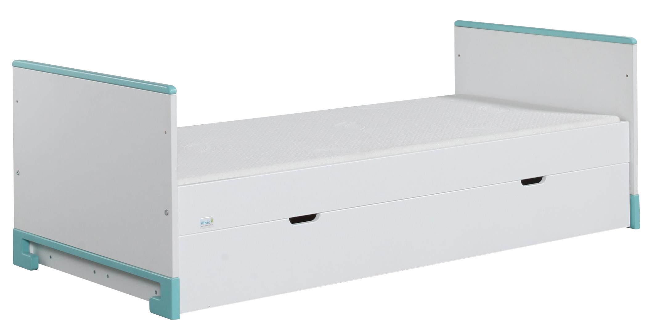 juniorbett toto 160x70 cm rosa oder t rkis lampen und leuchten online. Black Bedroom Furniture Sets. Home Design Ideas