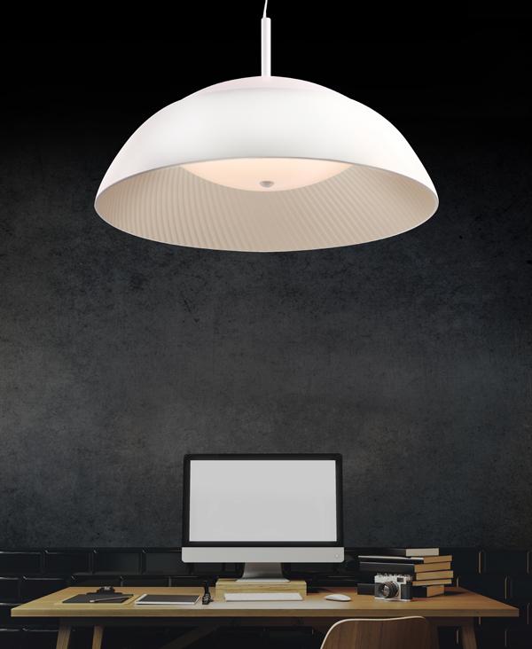 h ngelampe led sunny weiss lampen und. Black Bedroom Furniture Sets. Home Design Ideas