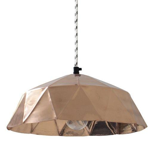 h ngelampe diamond aus kupfer hk living lampen und leuchten online. Black Bedroom Furniture Sets. Home Design Ideas