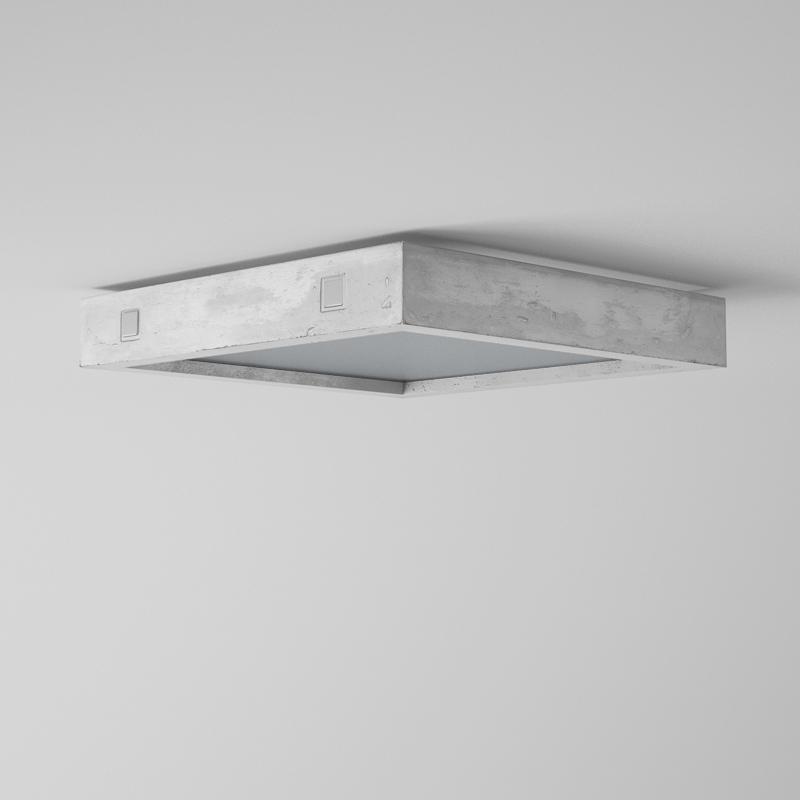 beton deckenleuchte geo lampen und. Black Bedroom Furniture Sets. Home Design Ideas