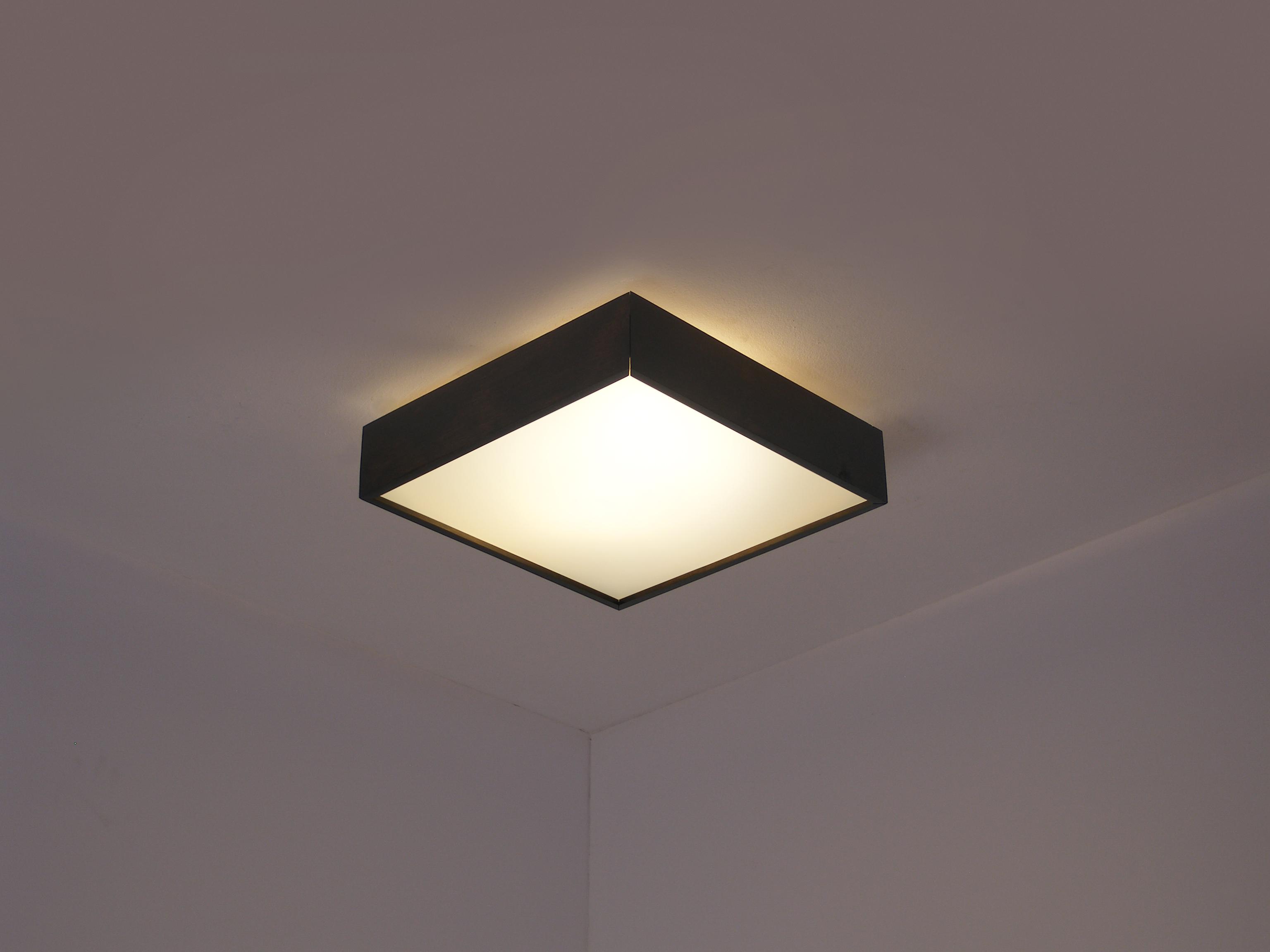 Stilvolle Holz Deckenlampe Alma Dslampen At Lampen Und Leuchten