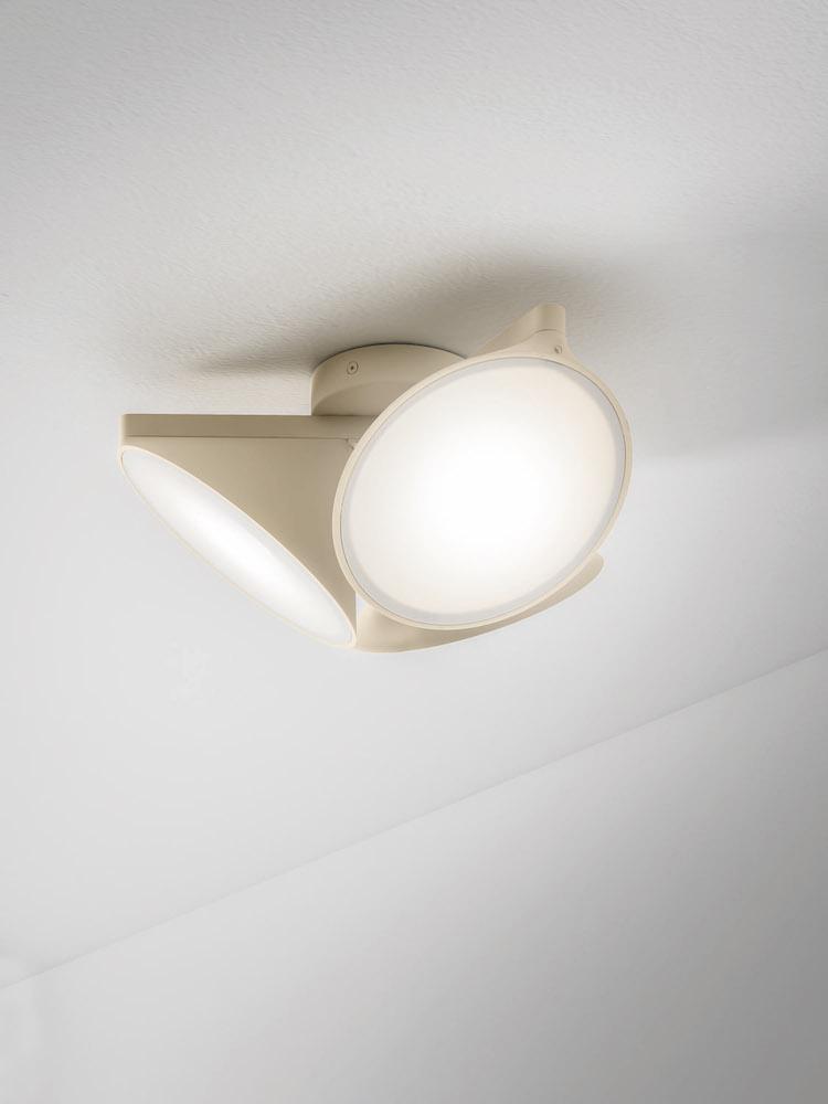 Moderne dreiflammige LED-Deckenleuchte Orchid Axo Light - DSLampen ...