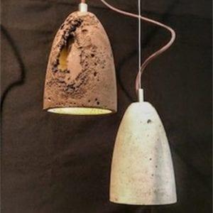Betonlampen sind der wahre Hit der modernen Industrial-Inneneinrichtung.