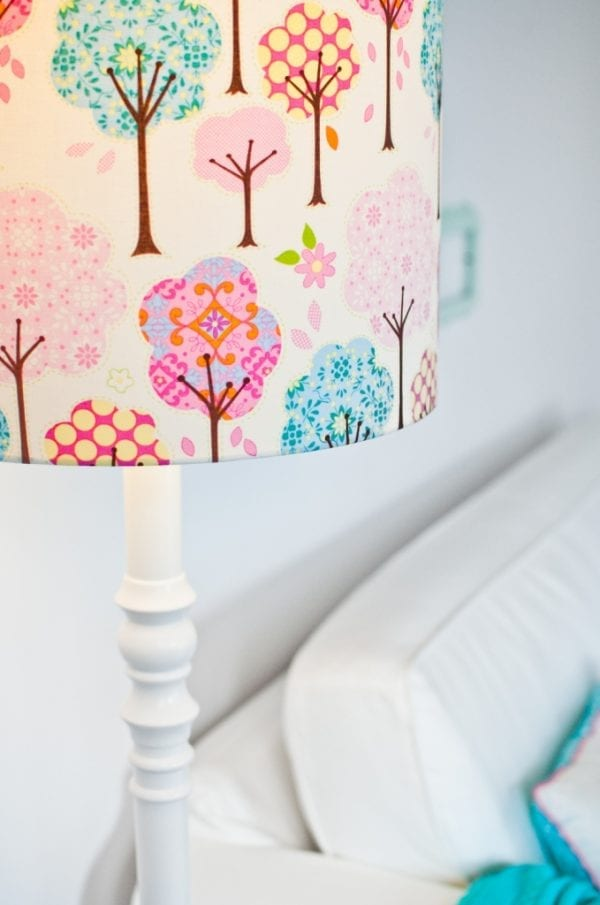 Stehlampe Traumhafter Wald