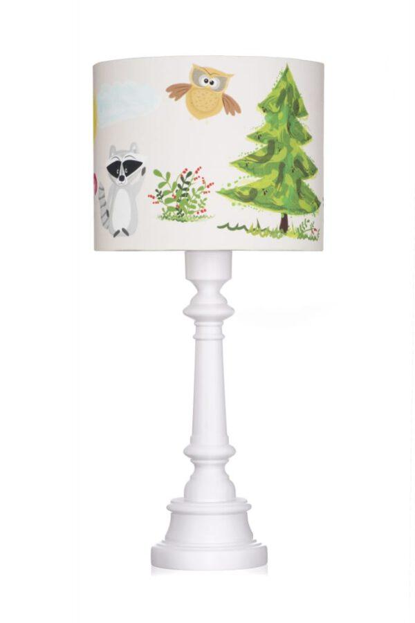 Tischlampe Freunde im Wald