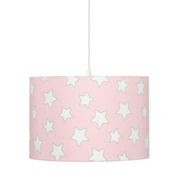 Hängeleuchte Pink Stars
