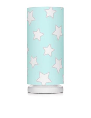 Nachttischlampe Mint Stars