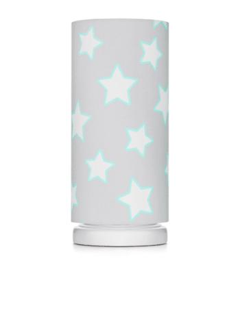 Nachttischlampe Grey Stars