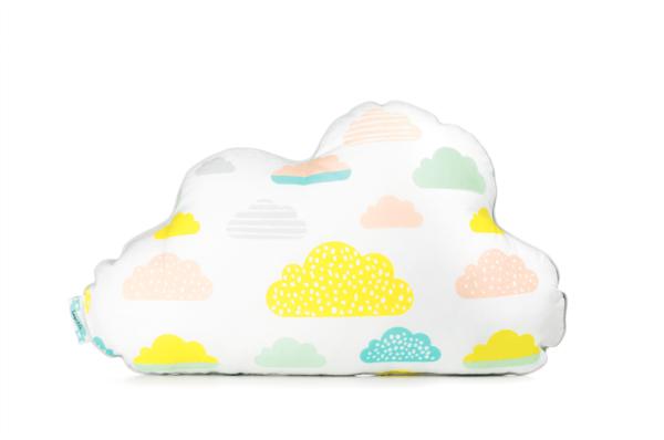 Kinderkissen Pastell Wolken