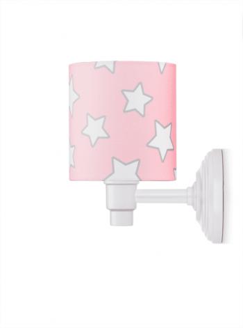 Wandleuchte Pink Stars
