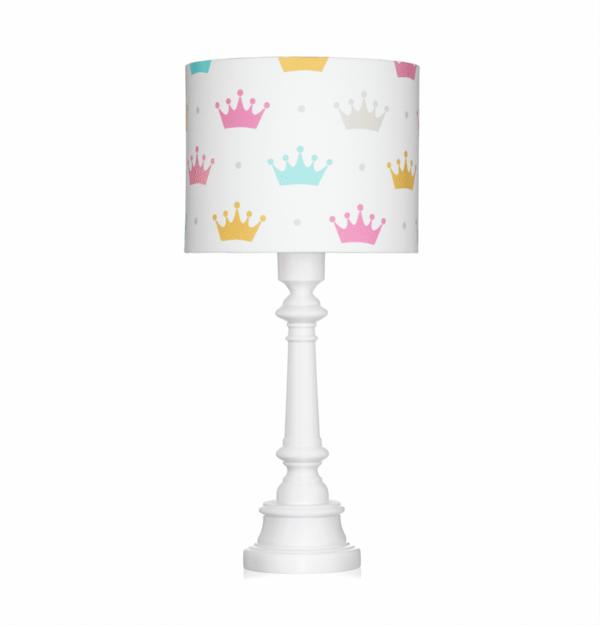 Tischlampe Princess Krone