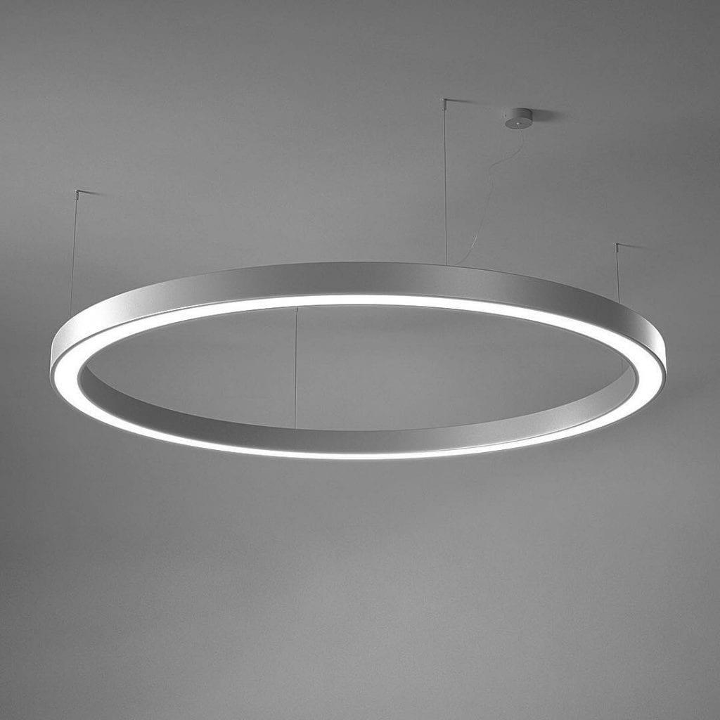 Große exklusive LED Hängeleuchte Rad