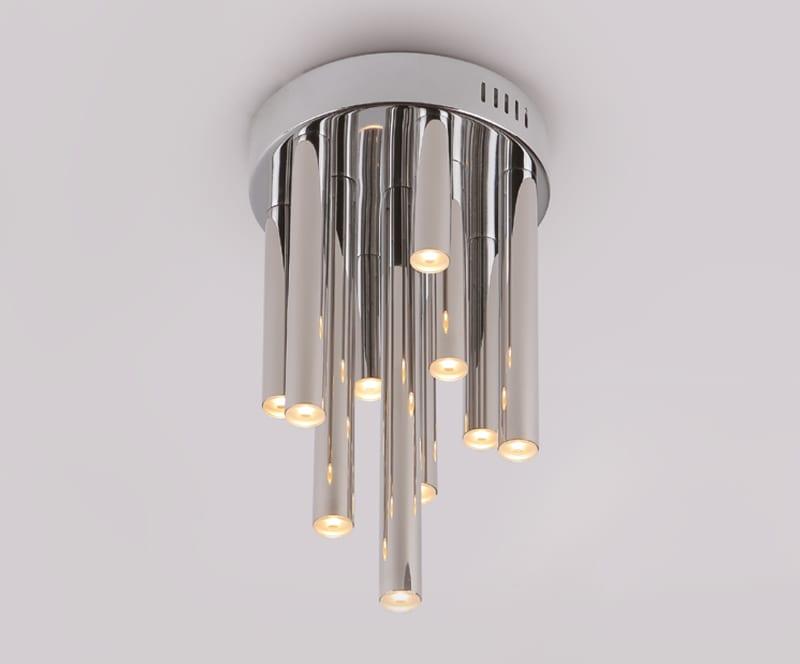 Deckenlampe-LED ORGANIC Chrom